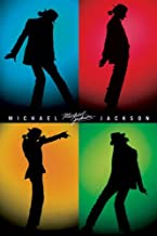 Pyramid America Michael Jackson-Silhouettes, Music Poster Print, 24 by 36-Inch