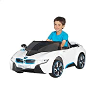 Rollplay Electric Ride-on BMW Car - White