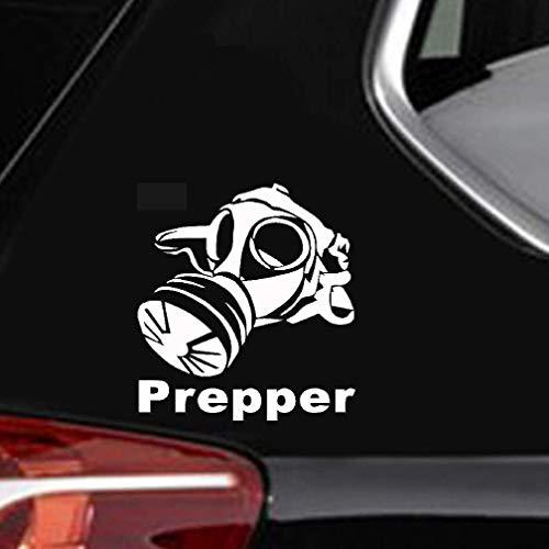 Große Aufkleber Für Auto 21,2 Cm x 22,9 Cm Gasmaske Prepper Auto Lkw Fenster Stoßstange Zubehör Motorrad Auto Aufkleber s für Auto Laptop Fenster Aufkleber
