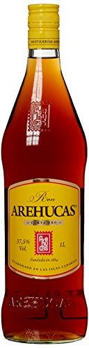 Ron Arehucas, Carta Oro, Canarische Inseln, 1,0l Rum (1 x 1 l)