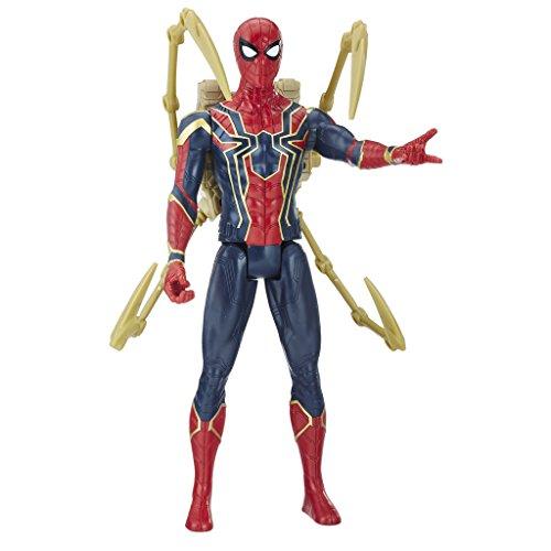Marvel Titan y Mochila Power Fx Spider-Man Hasbro E0608105, Idioma Español