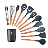 Silicone Kitchenware Cooking Utensils Set Heat Resistant Kitchen Non-Stick Cooking Utensils Baking Tools With Storage Box Tools 10