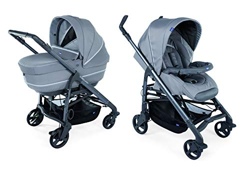 Chicco Love Up Passegino Duo, Cool Grey