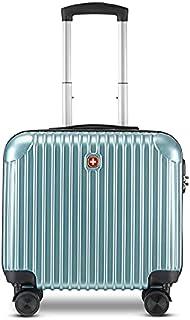حقائب سفر من سويسجير مقاس 45.72 سم و45.72 لتر للسفر بعجلات دوارة سويس جير 360 درجة - حقيبة خفيفة الوزن ومتينة