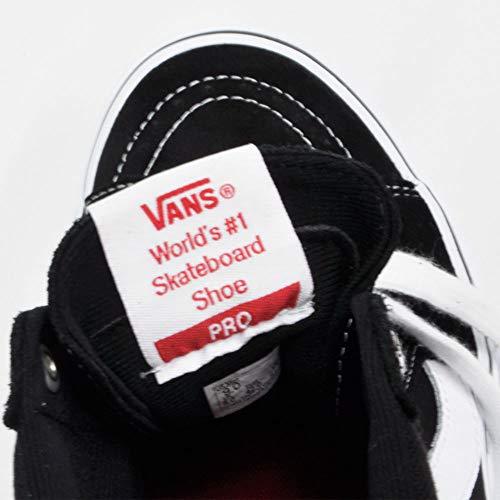 VANSヴァンズスケートハイプロSK8-HIPROバンズスニーカーメンズレディースブラック/ホワイト黒白26.0cm(US8)VN000VHGY28[並行輸入品]