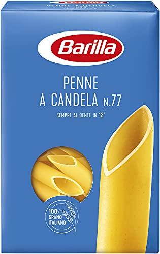 Barilla Pasta Penne a Candela, Pasta Corta di Semola di Grano Duro 100% Italiano, 500 g