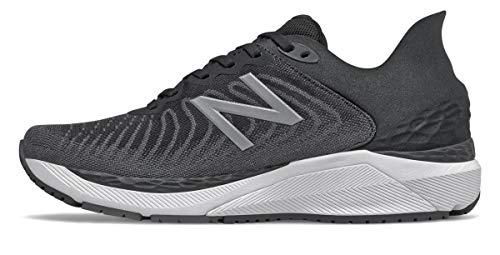 New Balance Men's Fresh Foam 860v11, Black/White, 11.5 Medium