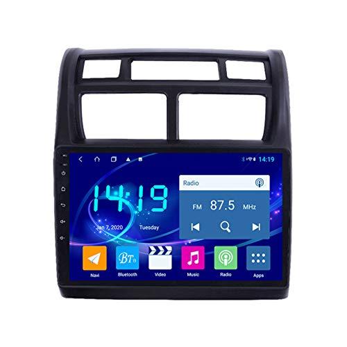 Amimilili Autoradio para KIA Sportage 2007-2013 Sistema de navegación GPS estéreo de Radio Auto WiFi Pantalla táctil de la cámara Trasera Bluetooth FM Mandos del Volante,4 Cores WiFi:2+32g