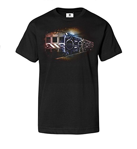 Customized by S.O.S Herren T-Shirt Ghettoblaster Train (3XL)