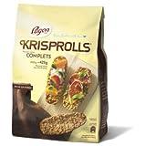 Krisprolls Petits pains suédois complets - Le paquet de 425g