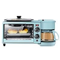 SMFYY Multi-Function Colazione Machine, Tre-in-One alla griglia e cucinato a casa della Macchina del Pane con apparecchi Automatici, può Funzionare esclusivamente