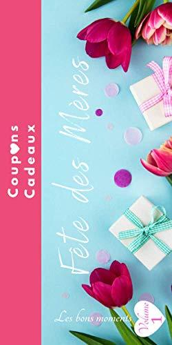 Fête des Mères coupons cadeaux: carnet de chèques bons cadeaux en couleur-Cadeaux fête des mères-maman je t'aime-bons cadeaux à compléter-id idéal ... mamans-mon cœur-à remplir et personnaliser
