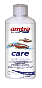 AMTRA CARE, Bioconditionneur d'eau , Traitement de l'eau pour Aquarium, Purificateur d'eau Aquariophilie, Format 1000 ML
