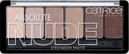 Catrice Cosmetics Absolute Nude Eyeshadow Palette Nr. 010 All Nude Inhalt: 6g Inhalt: 6 Lidschatten sind ideal aufeinander abgestimmt. Lidschatten + Pinsel