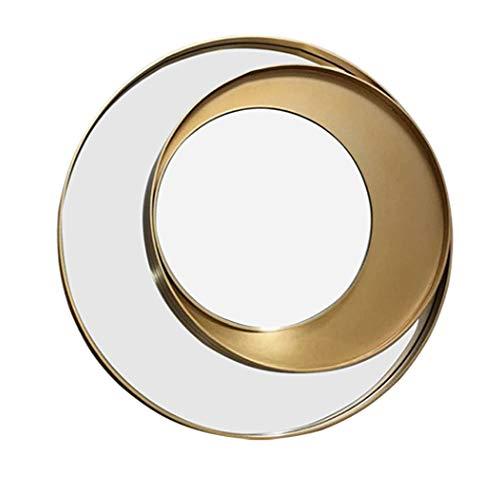AWJ Creativa Pared del Fondo de la decoración Espejo de tocador Espejo Espejo Veneciano Consola de Pared Arte Decorativo con Espejo montado en la Pared de Espejo