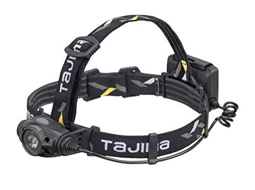タジマ(Tajima) LEDヘッドライト ブラック ガンメタ 明るさ最大350lm LE-F351D-GA