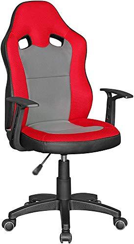 Traiga la espalda y la rueda del piso duro giratorias, ruedas, ergonomía, escritorio y sillas altamente ajustables,Red