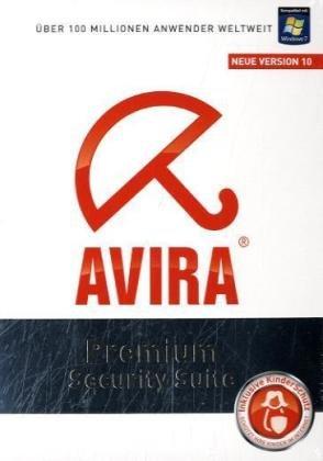 Avira AntiVir Premium Security Suite Neue Version 10, CD-ROM Inklusive Kinderschutz. Für Windows XP(32 oder 64 Bit)SP2/Vista(32 oder 64 Bit)SP1/7
