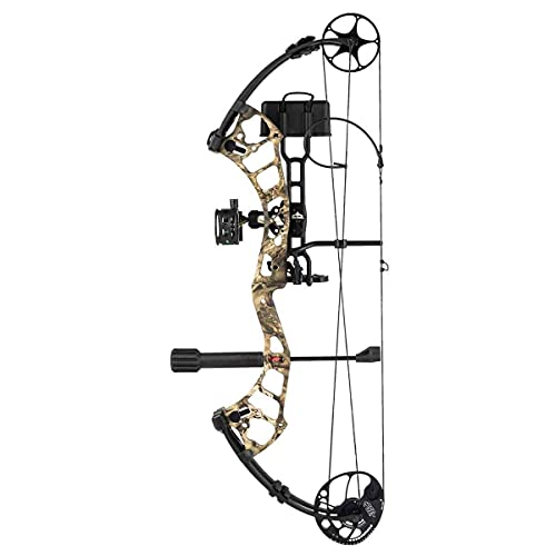 PSE Stinger MAX Ready-to-Shoot Compound Bow Package, 70-lb. Draw Weight, Right Hand, Mossy Oak Country