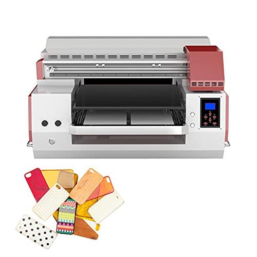 HXXXIN Flachbettdrucker Verwendet Für Handy-Shell Flachobjektdruck Mädchen Geschenk DIY, Home Color Inkjet-Maschine