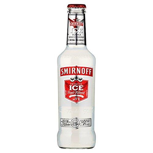 Smirnoff Ice Triple premium vodka filtrada bebida mezclada 275ml (paquete de 24 x 275ml)