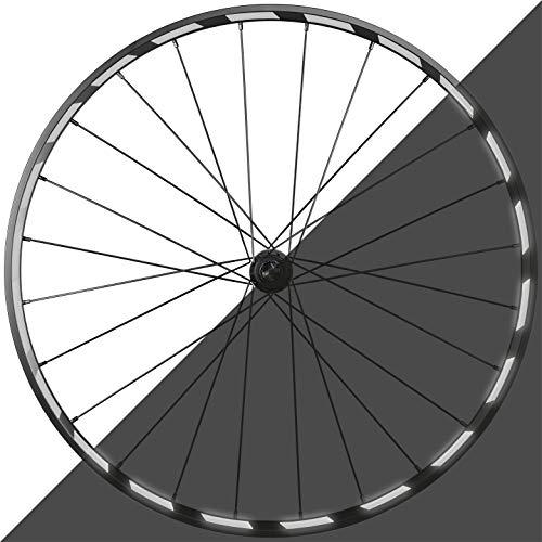 Blackshell® Reflektoren Aufkleber - 100{6667b47065d755cef9e2bd4332a6231e5cf9617222c2f5be8ddeb380b40859b3} passgenaues 42 teiliges Fahrrad Aufkleber Set für 27,5 28 und 29 Zoll Felgen - Fahrrad Felgen Aufkleber, Reflektoren Fahrrad in weiß