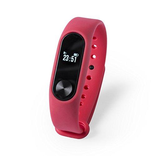 Pulsera Inteligente para Deportes Reloj Inteligente BEYTEL-Recargable-Bluetooth-Pulsera Actividad-Smart Watch-Smart Band con conexión Bluetooth comuniones o cumpleaños