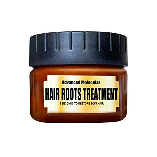Magical Hair Treatment Mask,Advanced Molecular Hair Roots Treatment Professtional Hair Conditioner,5 Seconds to Restore Soft Hair,Deep Repair Conditioner for Dry and Damaged Hair 60ML