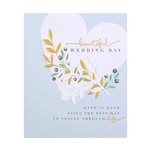 Hallmark Klassische Hochzeitskarte mit englischer Aufschrift