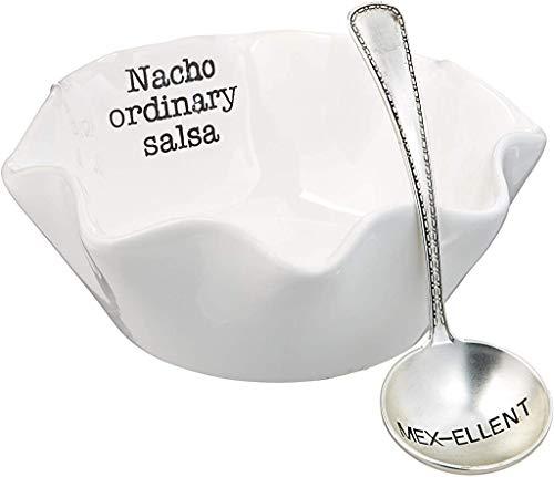 Mud Pie Salsa Dip Cup Set, Nacho