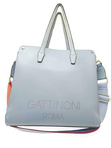 Gattinoni Bolsa Arisa Azul Size: 31x26x12 cm