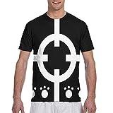 xiaojun One Piece - Bartholomew Kuma Graphic Short Sleeve T Shirts for Men Black