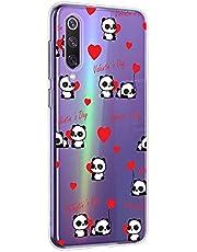 Oihxse Cristal Compatible con OnePlus 3/OnePlus 3t Funda Ultra-Delgado Silicona TPU Suave Protector Estuche Creativa Patrón Panda Protector Anti-Choque Carcasa Cover(Panda A7)