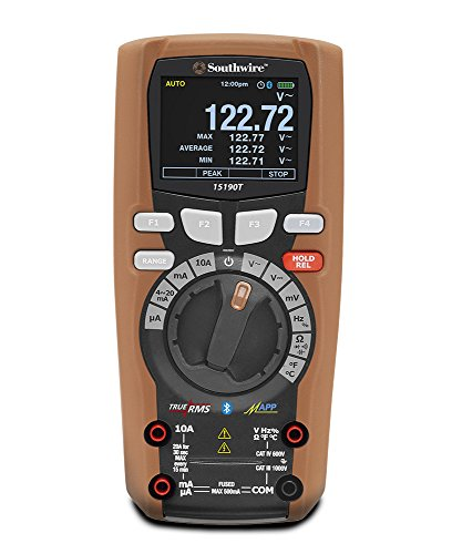 Southwire Tools & Equipment 15190T MaintenancePRO Color Screen Multimeter with MApp Mobile App