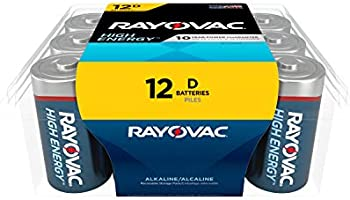 12-Count Rayovac Alkaline D Cell Batteries