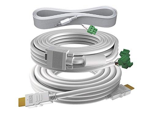 Vision TC3-PK10MCABLES Cable VGA 10 m VGA (D-Sub) Blanco - Cables VGA...