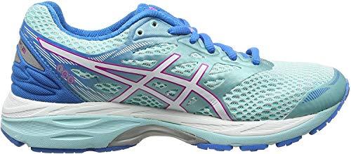 ASICS T6C8N6701, Zapatillas de Running para Mujer, Azul (Aqu