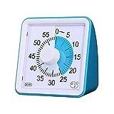 advancethy - Temporizador visual de 60 minutos, temporizador silencioso, herramienta de gestión del tiempo, para aula o reunión de reloj de cuenta regresiva para niños y adultos