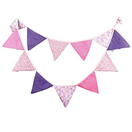 3.3M banderines Guirnalda de banderines,Banderines de Tela,guirnalda fiesta,Triángulo banner,para decoración,fiestas de cumpleaños de boda