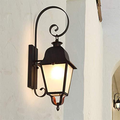 Waterproof Patio Illumination Light Exterior Wall Lamp Light Antique Wall-mounted Lighting Corridor Patio