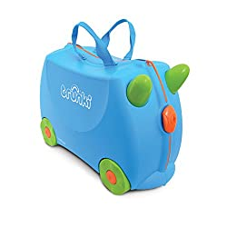 3. Trunki Original Kids Ride-On Suitcase and Carry-On Luggage