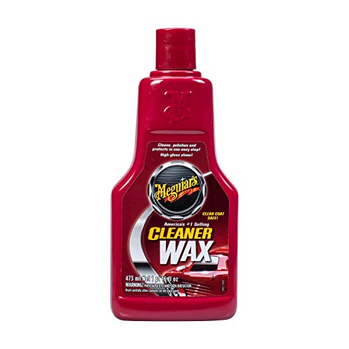 Meguiar's A1216 Cleaner Wax, 16 Fluid Ounces