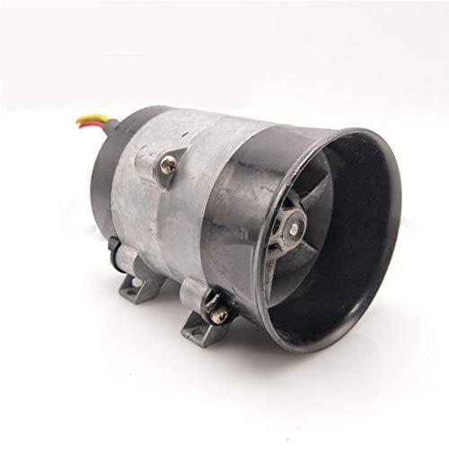 DSSQABR-11 Turbo Coche eléctrico Turbina Power Turbo Charger Tan Boost Air Ingenio Ventilador 12V