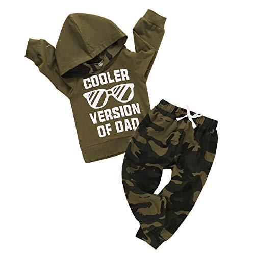 Infant Baby Boys Clothes Letter Pri…