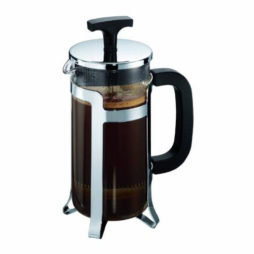 Bodum JESPER Kaffeebereiter (French Press System, Verchromter Edelstahlrahmen, 0,35 liters) glänzend