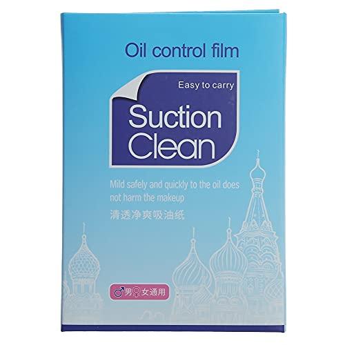Feuilles d'absorbeur d'huile 300Pcs pour le visage, buvard de film de contrôle d'huile pour le nettoyage de visage