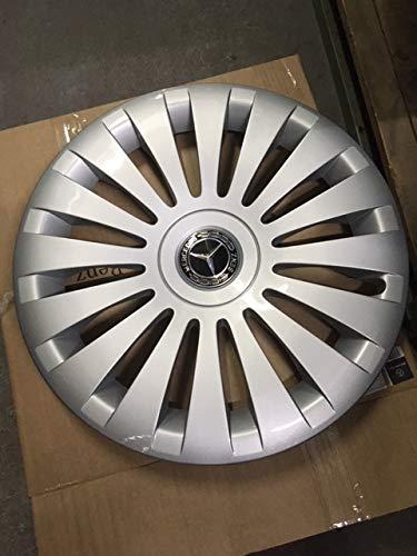 Mercedes Benz Original 4 Stück 17 Zoll Radkappen Silber/Schwarz W 447 V Klasse & Vito Baujahr ab 05/2014
