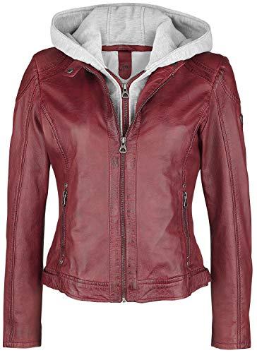 Gipsy Angy S18 Lamas Frauen Lederjacke rot S 100% Leder Basics