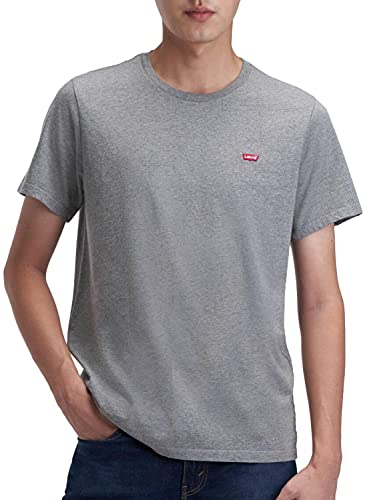 Levi's SS Original Hm tee Camiseta, Chisel Grey Heather, L para Hombre
