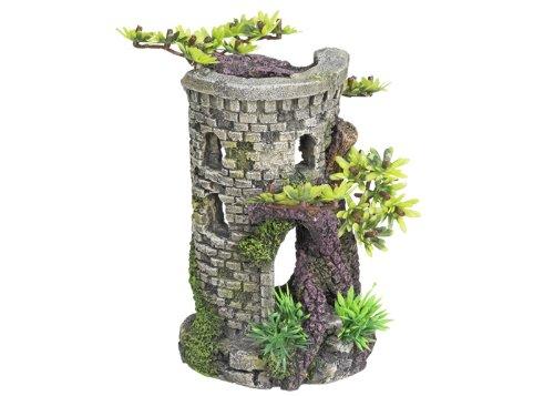 Nobby Torre con Bonsai Ornamenti per Acquario, 9x 10x 15cm
